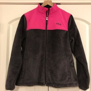 Fila Sport Active Wear Ladies Jacket, Size Large